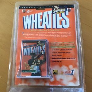 Limited edition mini box of Wheaties